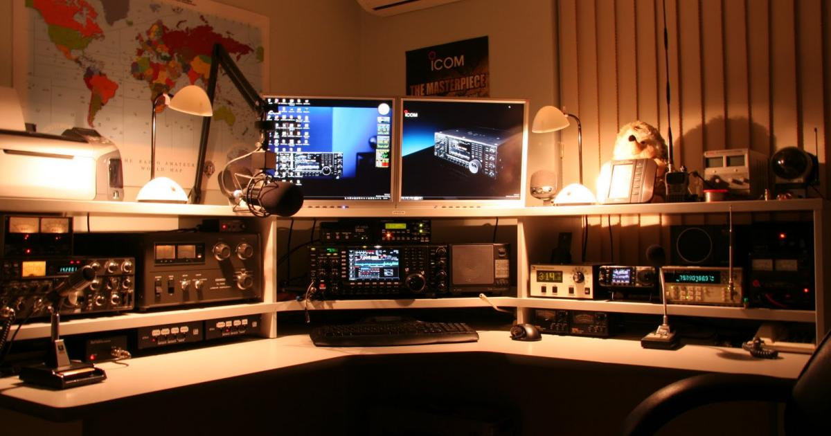 Photo of Amateur Radio during the current Global Pandemic