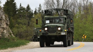 Photo of Troops, vehicles to move through to CFB Borden for anti-coronavirus fight