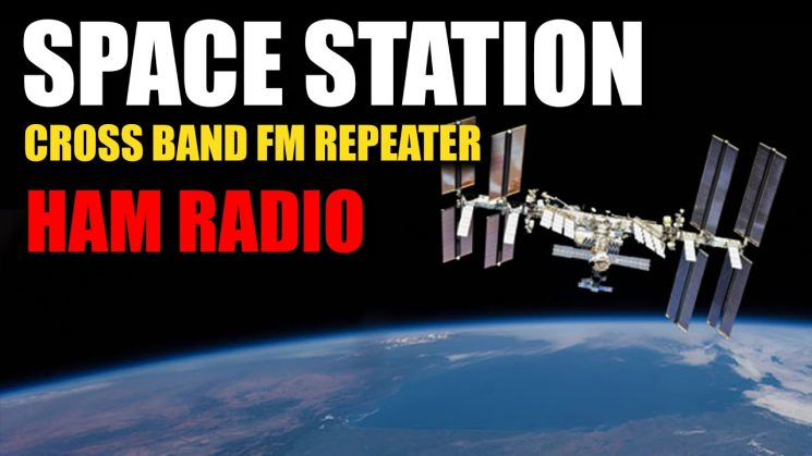 ISS Cross Band FM Repeater Activated